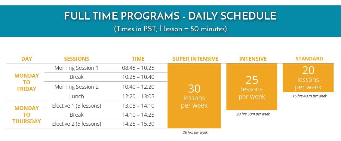 LPW Schedule